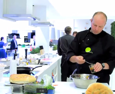 Film Live Cooking - Messecatering